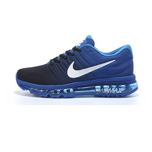 the best attitude 16ffd ced18 Nike Men s Air Max 2017 Dark Obsidian White Running Shoe 11 Men US