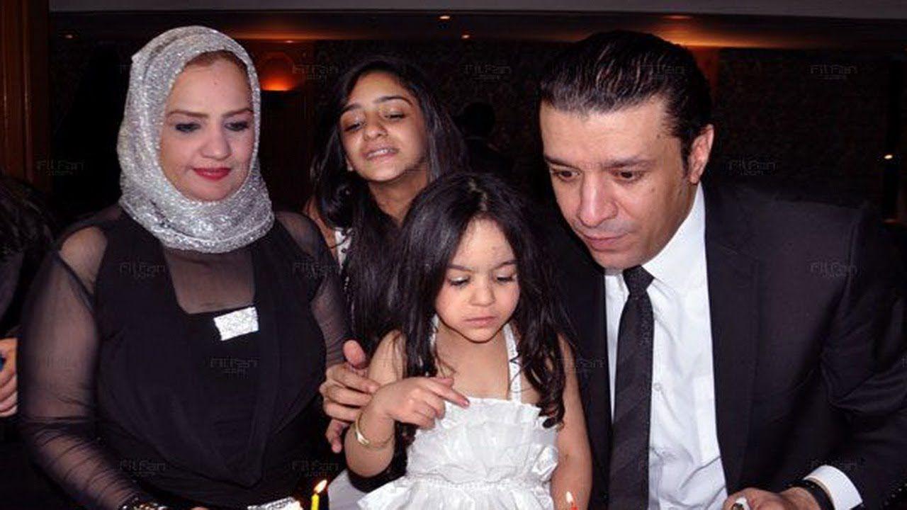 حجاب زوجة مصطفى كامل يعرضها للسخرية بعيد ميلاد ابنتها تعرف على السبب Stars Crown Jewelry Fashion