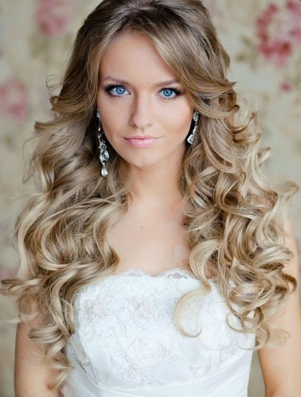 blonde wavy bridal hairstyle | Wedding inspirations | Pinterest ...