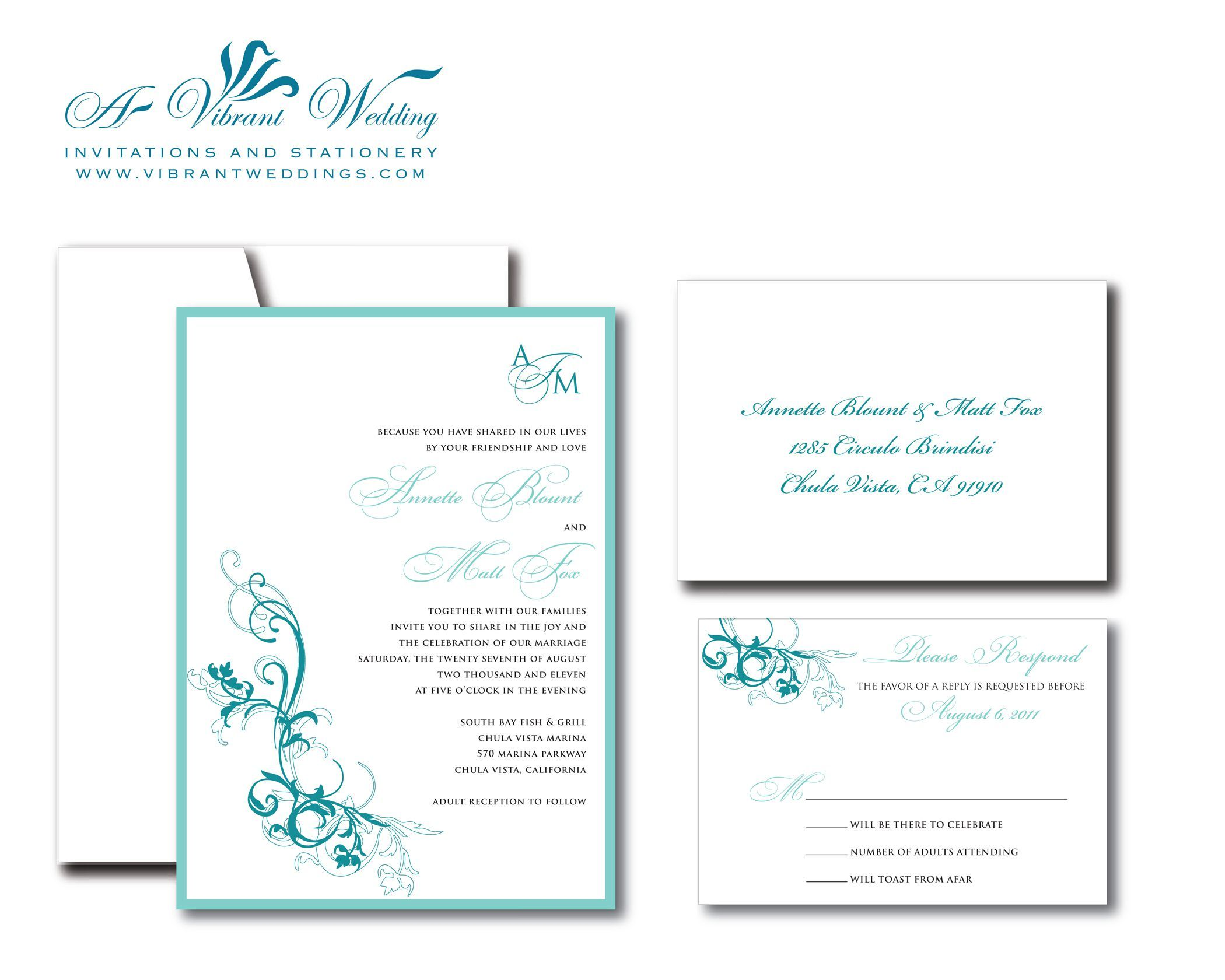 Sample Of Invitation Card Wedding Invitation Format