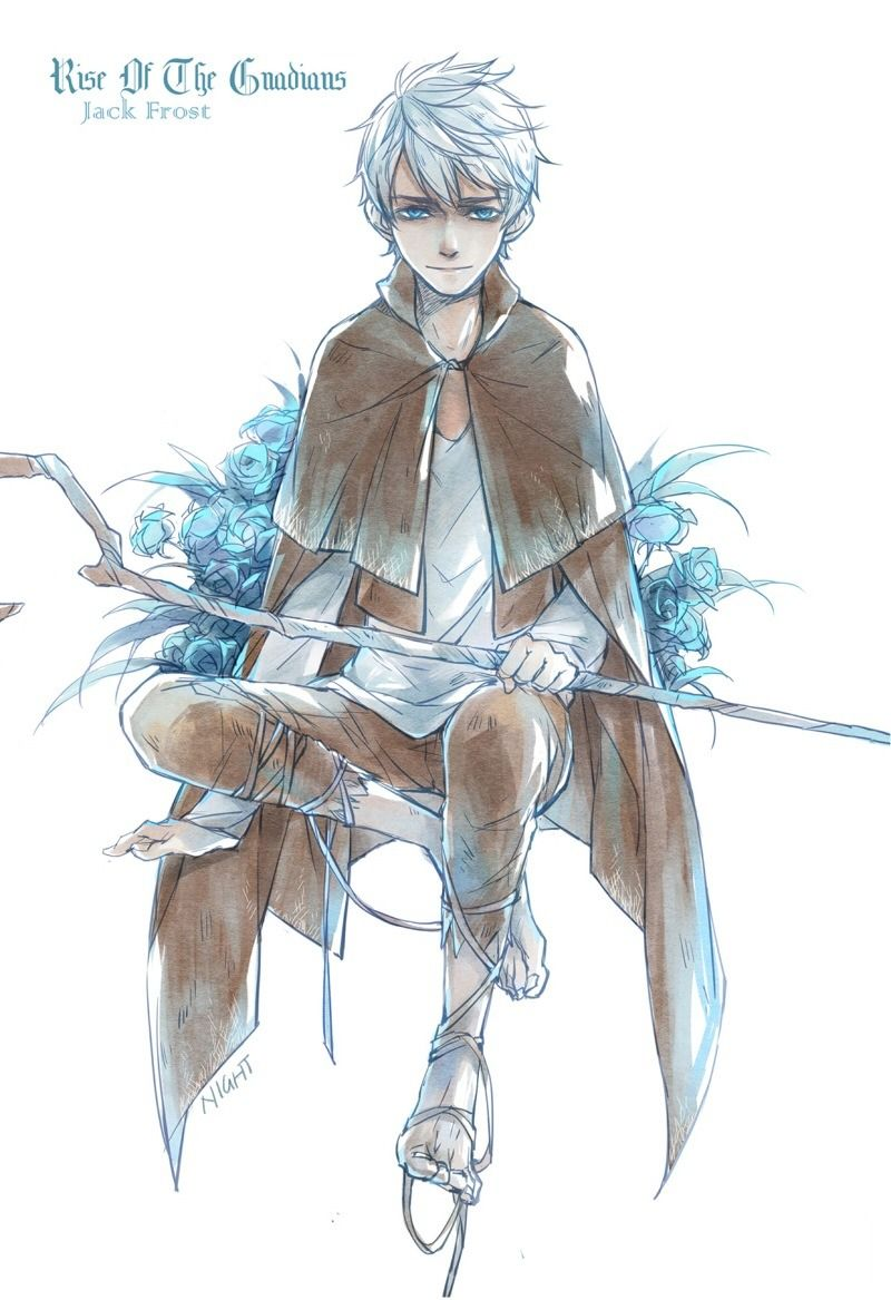 Night light x jack frost - Rise Of The Guardians Jack Frost By Night Light