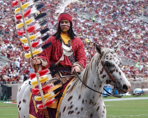 Florida State University mascots, Chief Osceola and