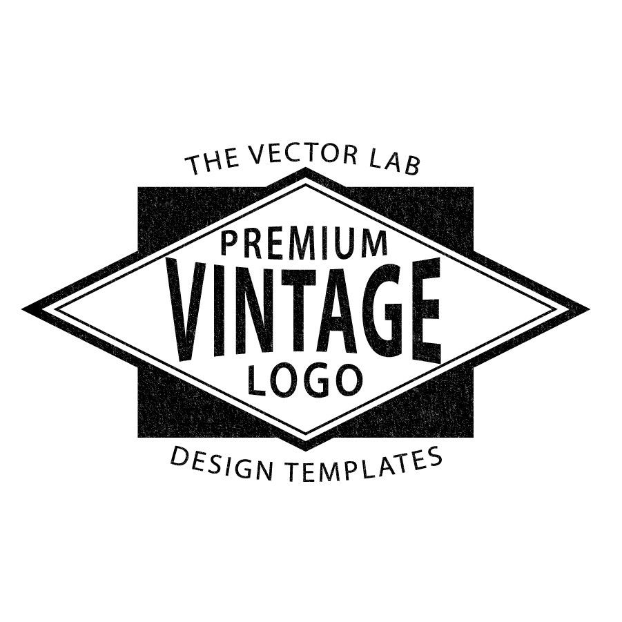 Vintage Logo Template for Adobe Illustrator | Beach logos ...