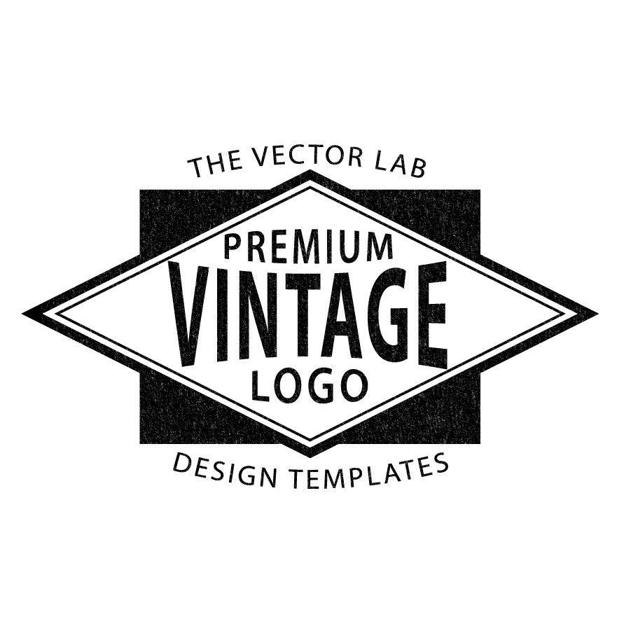 Logo Templates: Vintage Workwear | Logo templates, Adobe illustrator ...