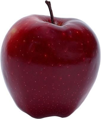 You are an apple if you have more weight around your middle than your hips.