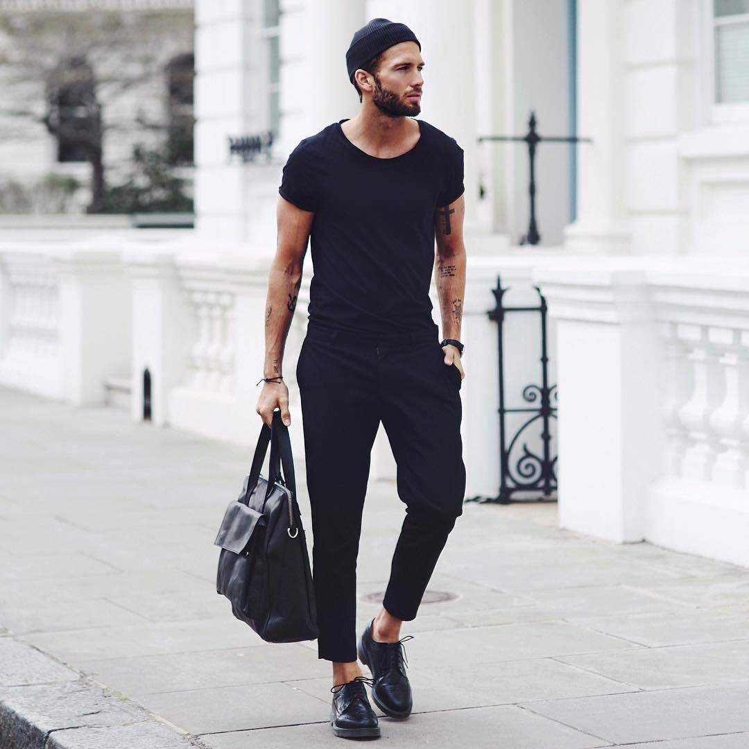 8 Absolutely Stunning Minimalist Looks You Can Steal Street Inspiration And Black