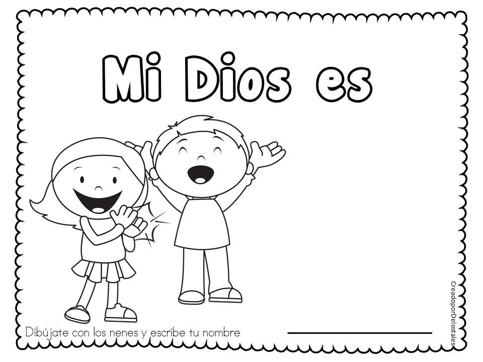 Atributos de Dios, Mi Dios es, Nombres de Dios, Recursos para ...