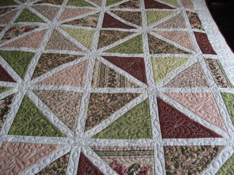 I like the quilting. QBOTSquad: View Photo: Cascades