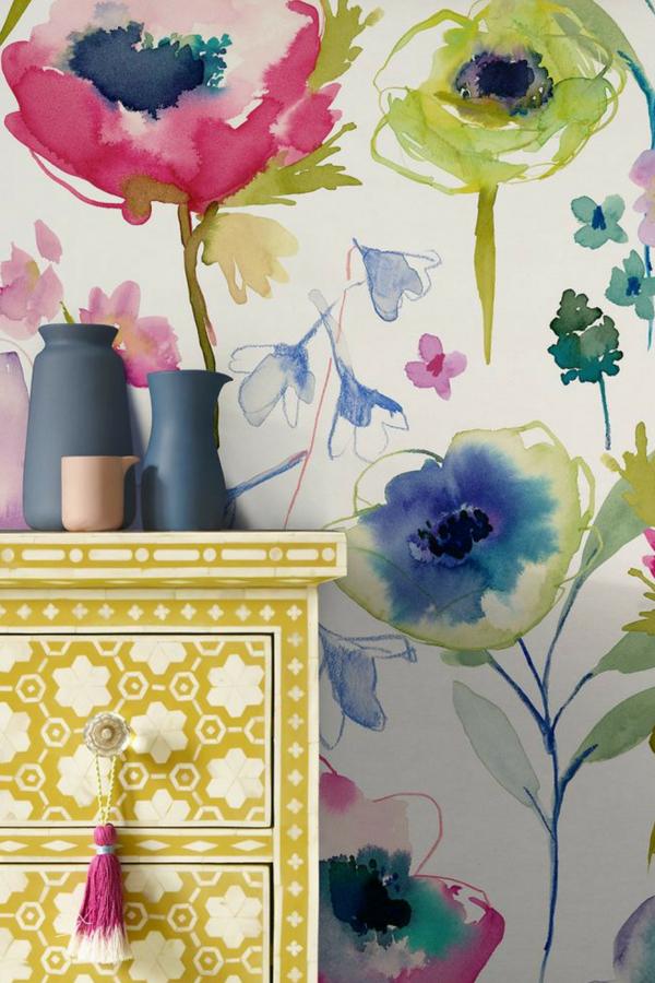 Brewster  Wallcovering Decorative Floral  Wallpaper Border #2