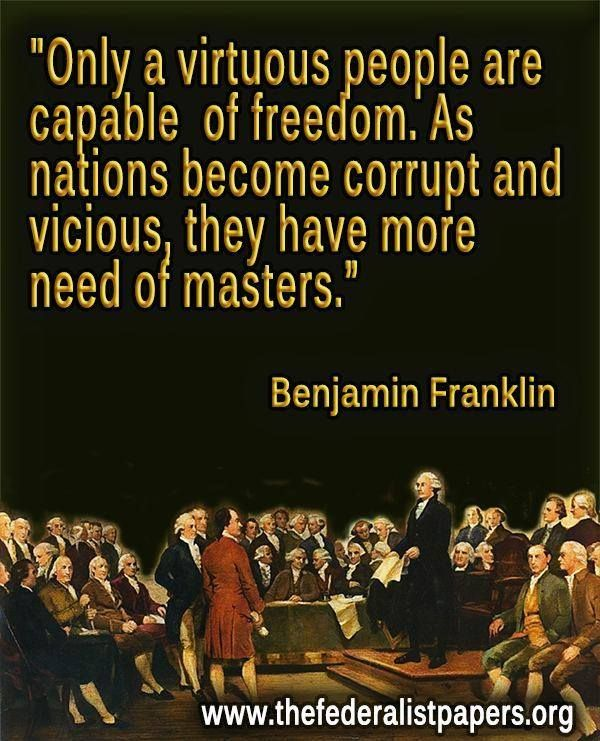 The Office Ben Franklin Quotes: Benjamin Franklin Quote And We Are Already There. Sad