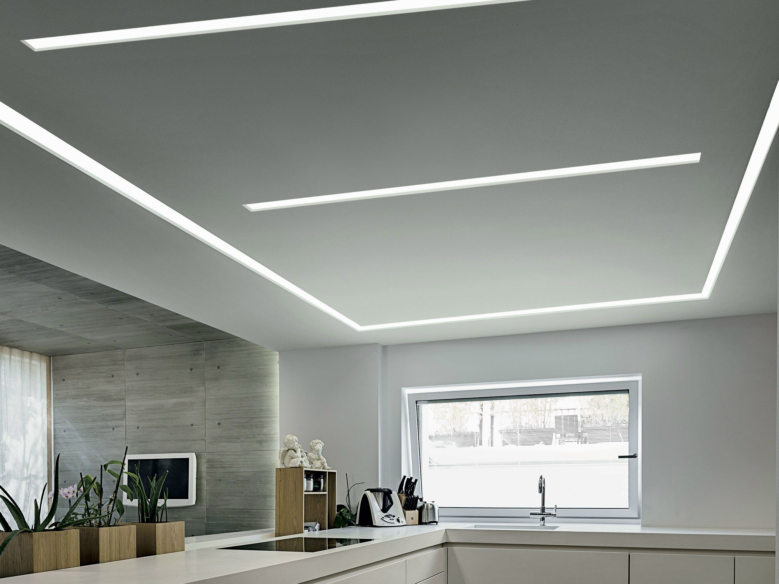Modular linear builtin led module FYLO DIRECT by Linea