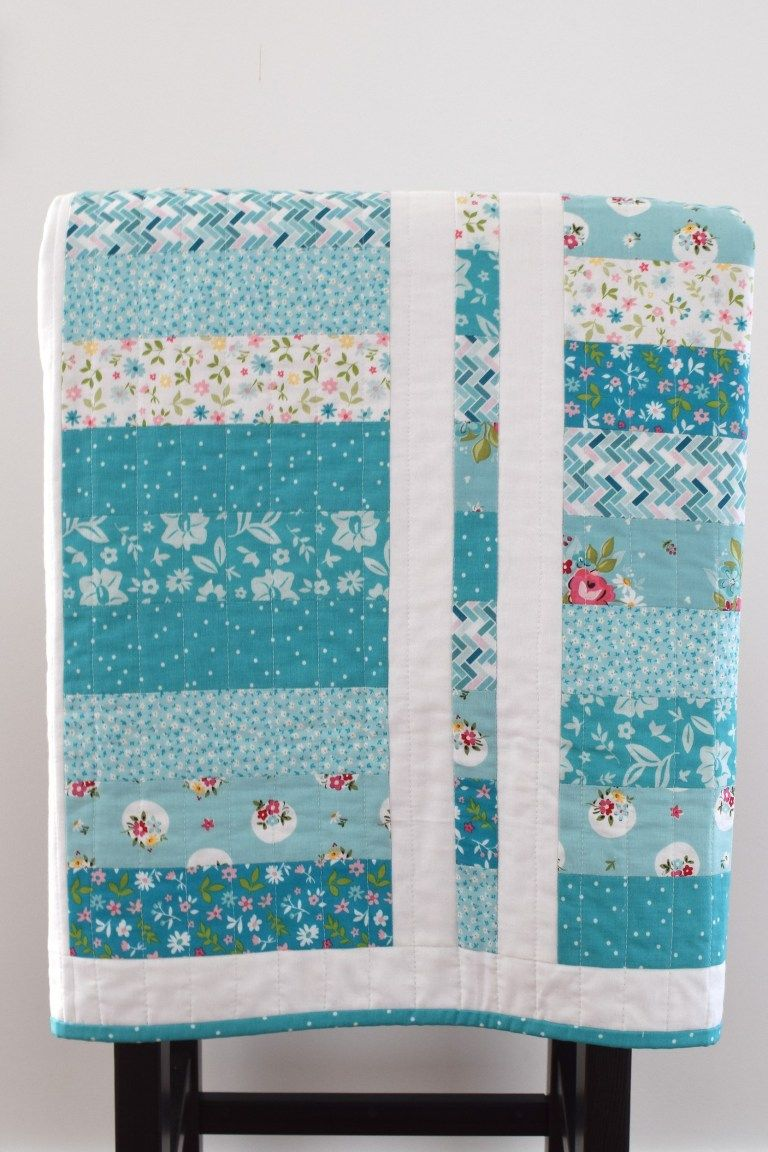Layer Cake Coin Quilt: A Free Pattern - She Quilts Alot