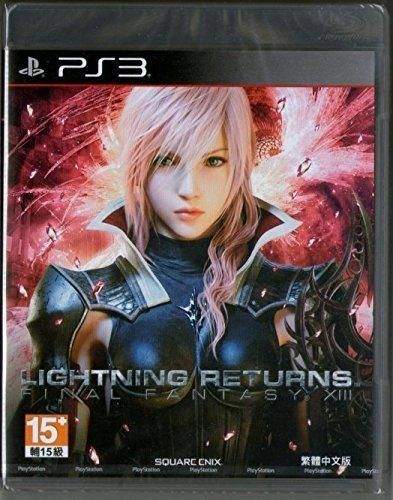 PS3 Final Fantasy XIII Lightning Returns Asian Version