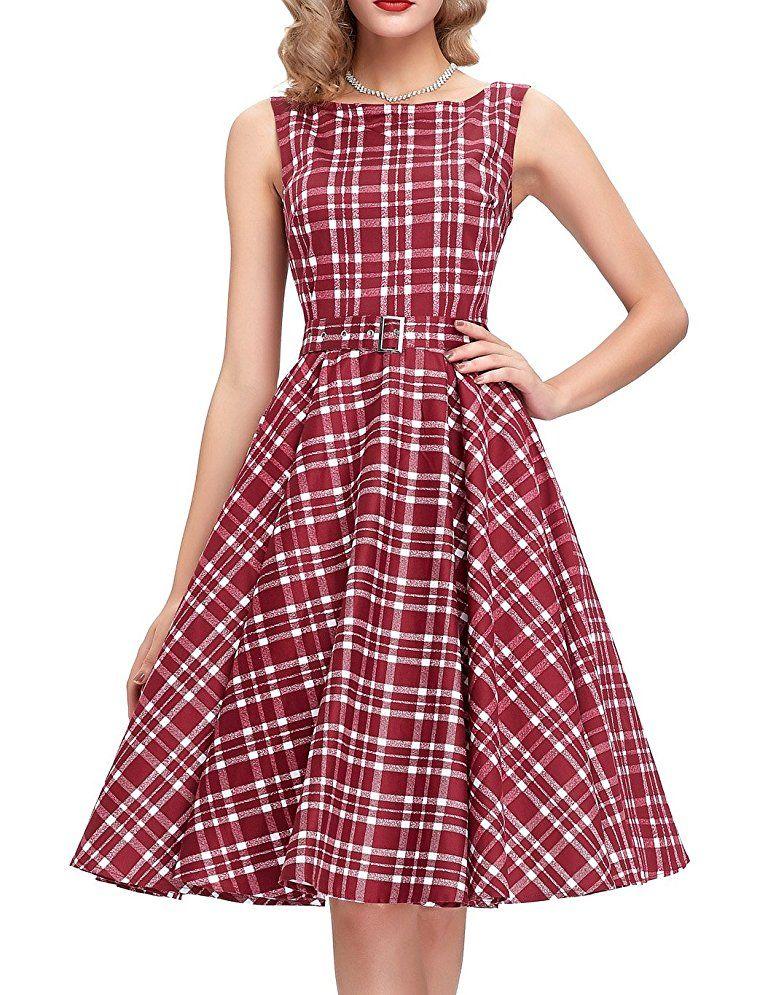 096b3a7249c7b 1950s Swing Dresses | 50s Swing Dress Belle Poque Belted 1950s Vintage  Retro Swing Dress 2017 New Homecoming Dress BP02 $28.86 AT vintagedancer.com