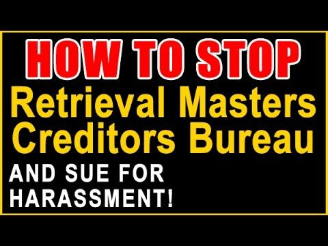 Important Information on Winning Against Retrieval Masters Creditors Bur...