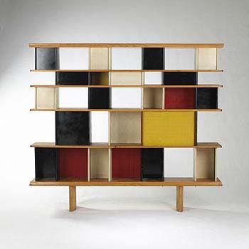 Repisa 60\'s. | muebles | Pinterest | Repisas, Libreros y De stijl