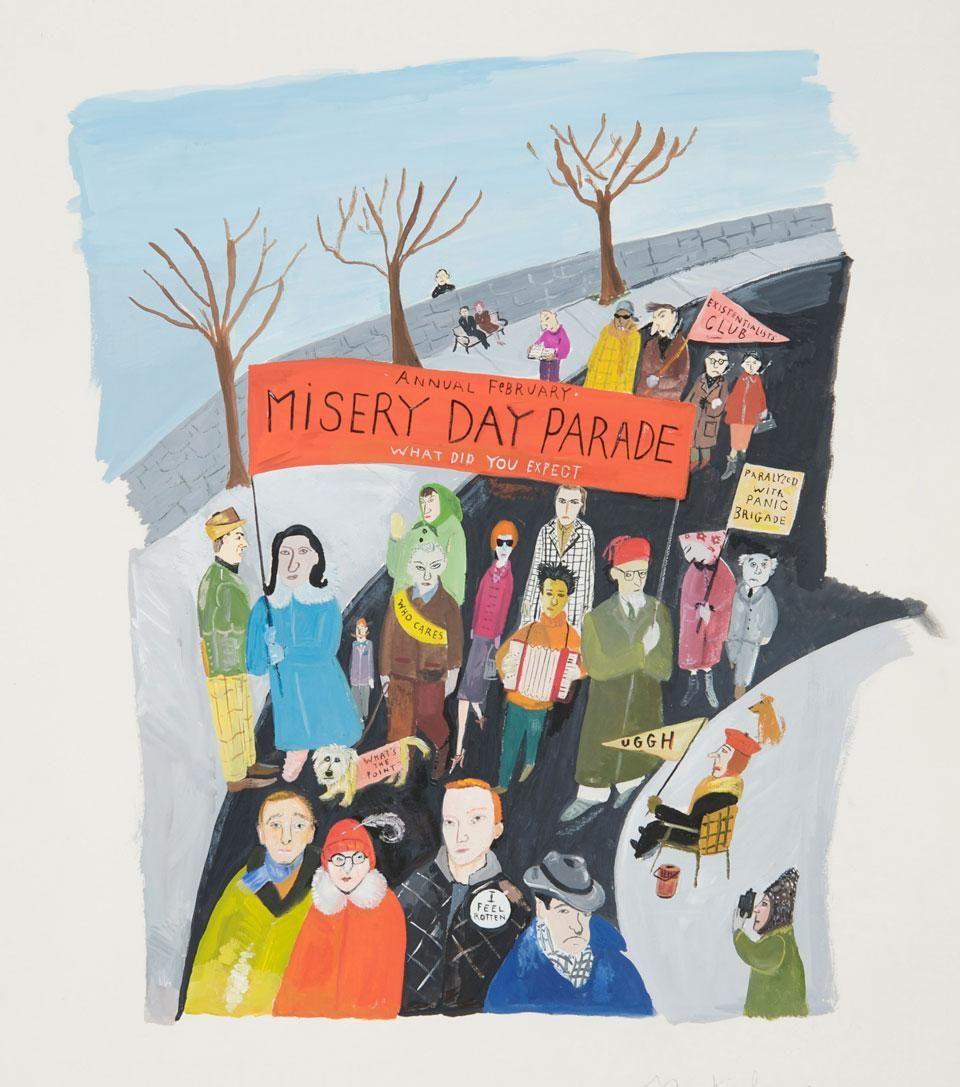 Maira Kalman / Annual Misery Day Parade
