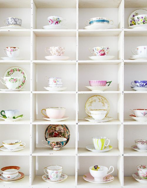 40 Display Ideas For Your Collections Kitchendining Pinterest Magnificent Tea Set Display Stand For Sale
