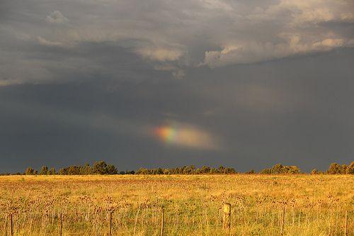 despues de la tormenta... siempre llega la calma...y los cielos hermosos