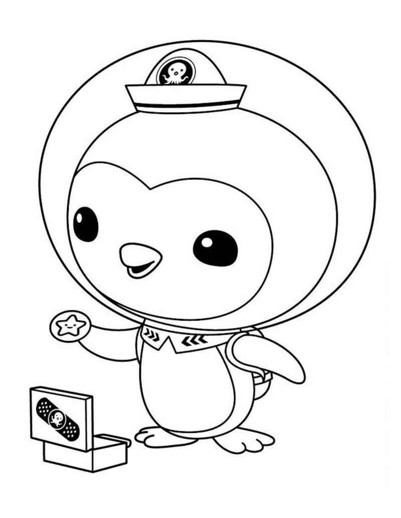 Peso Octonauts Coloring Pages In 2020 Coloring Pages Cartoon Coloring Pages Coloring Pages For Kids