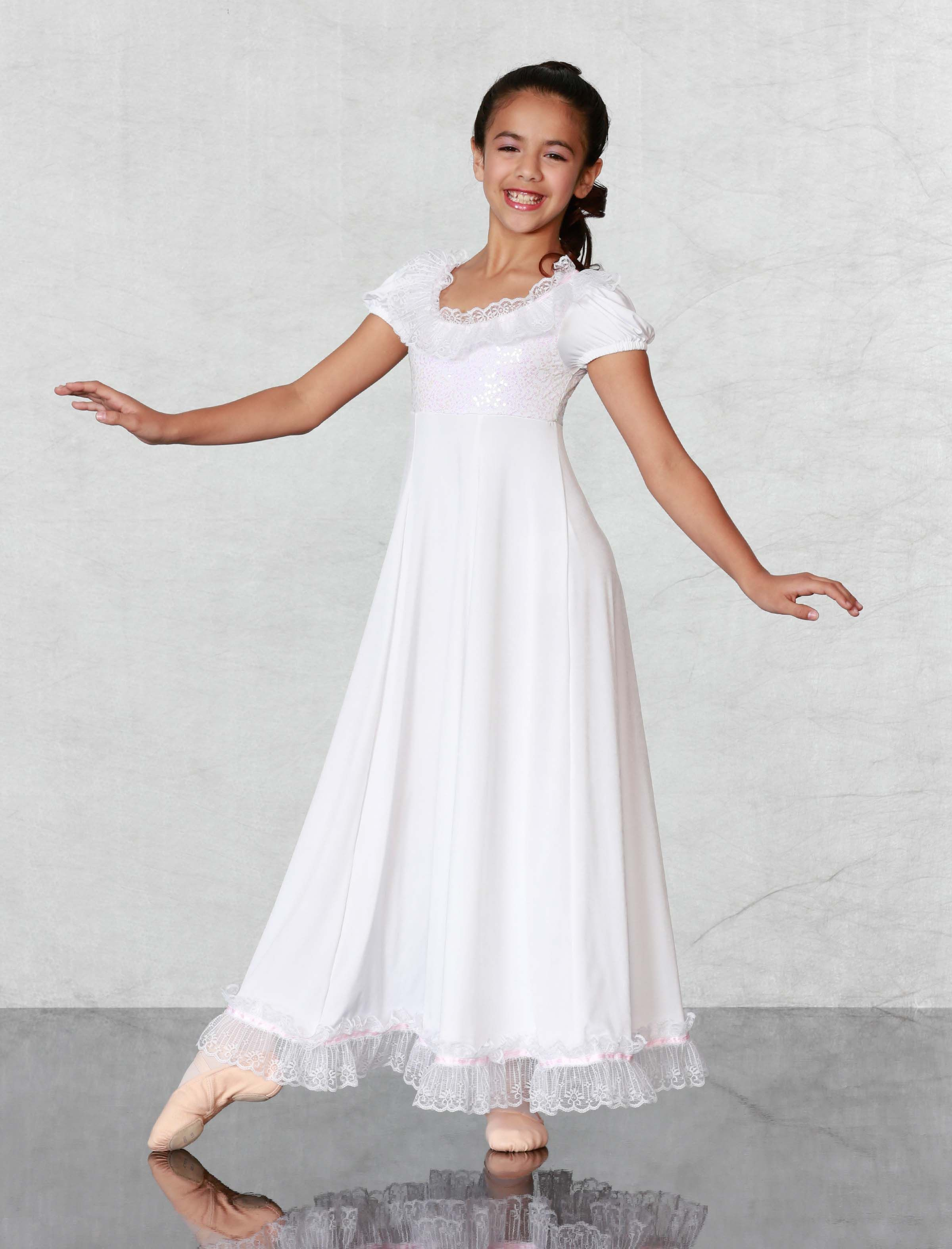CLARA NIGHTGOWN - Gorgeous buttery soft dream of a dress with shimmering  sequin bodice 641b3bcee