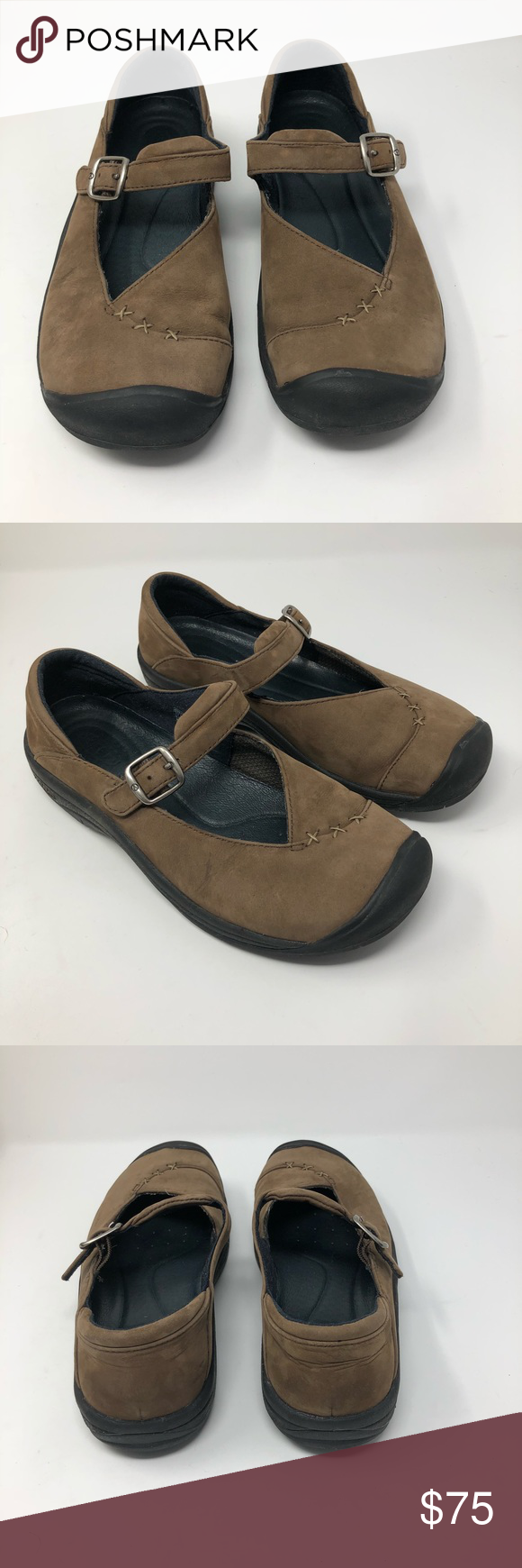 8cc4011e29ba Keen Womens Verona Casual Or Work shoe size 8 The KEEN Verona Mary Jane in  brown leather looks right for the office or a day on the town.