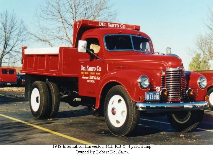 International KB5 trucks | 1949 International Harvestor