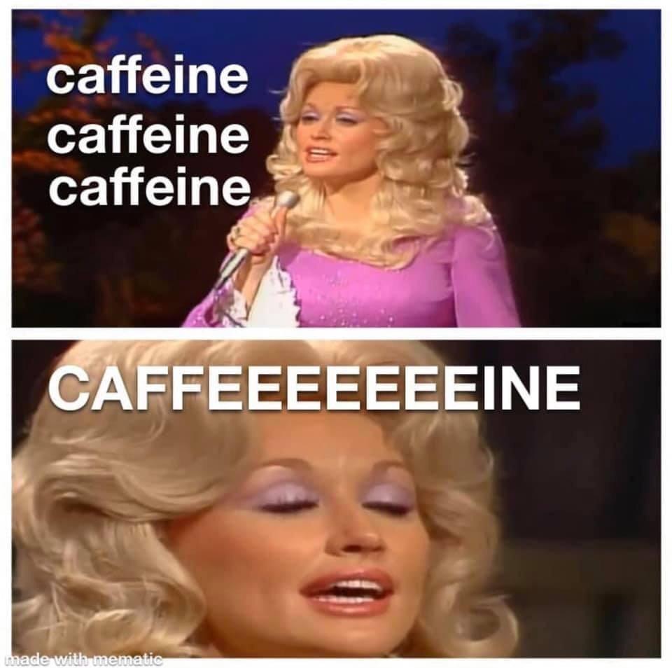 Caffeine caffeine caffeine #memes #viral #trends #funny #meme #twitch #kappa   Coffee humor ...