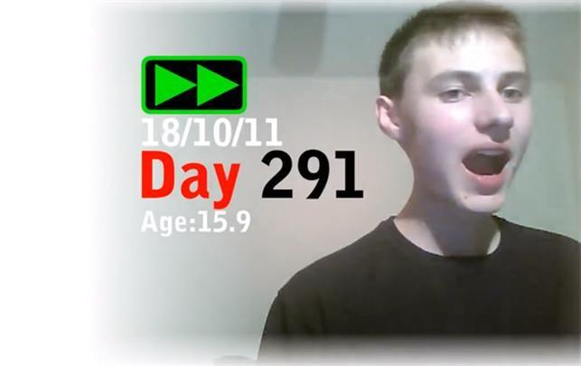 Se den imponerende selfie-video, som har taget en dreng 3 år at lave /lbh