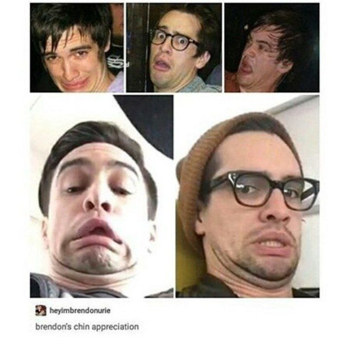 Double Chin Brendon Urie
