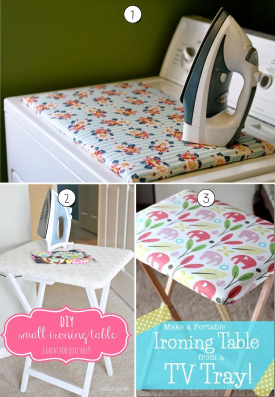DIY Small Ironing Table