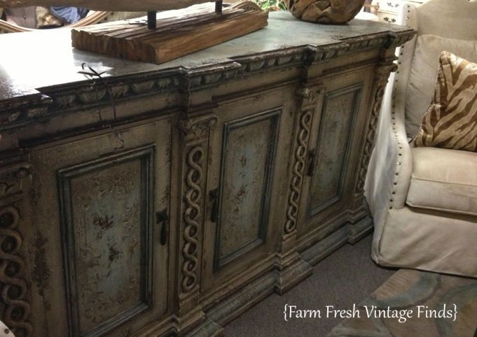 Buffet Painted In Colors Duck Egg Country Grey And Olive