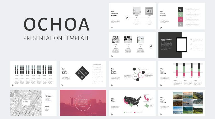 stock powerpoint templates - free download every weeks | ochoa, Modern powerpoint