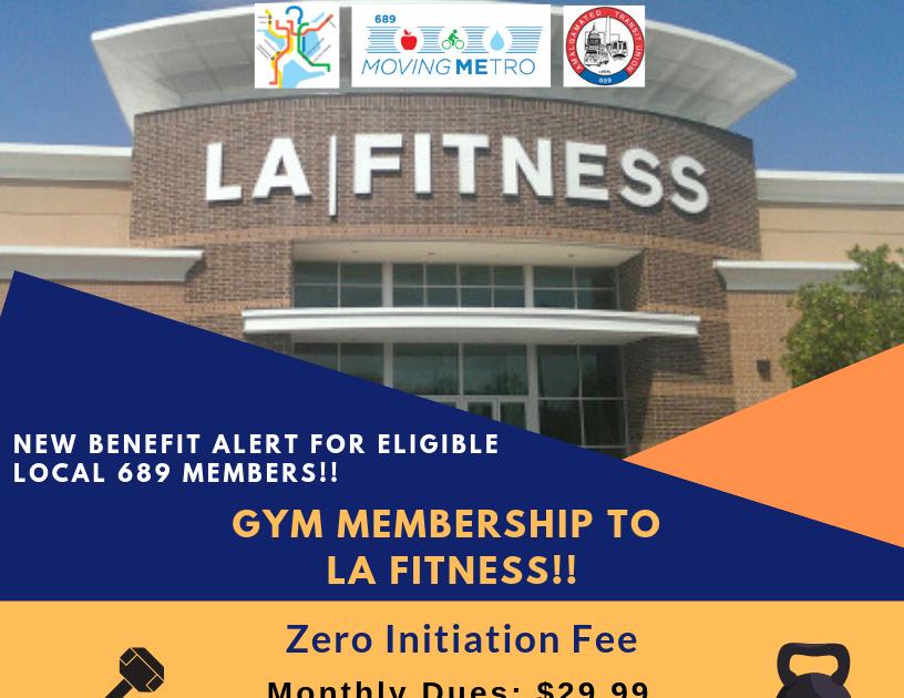 La Fitness Membership Enrollment For Friends And Family Program Fitness Membership La Fitness Employee Health