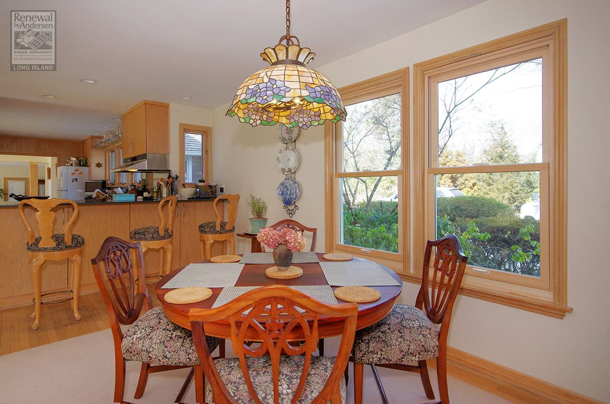 Delightful Kitchen Dinette Where We Installed These Beautiful, New, Wood  Interior Double Hung Windows . . . . . . . . . . . . . Home Remodeling /  Renovate ...