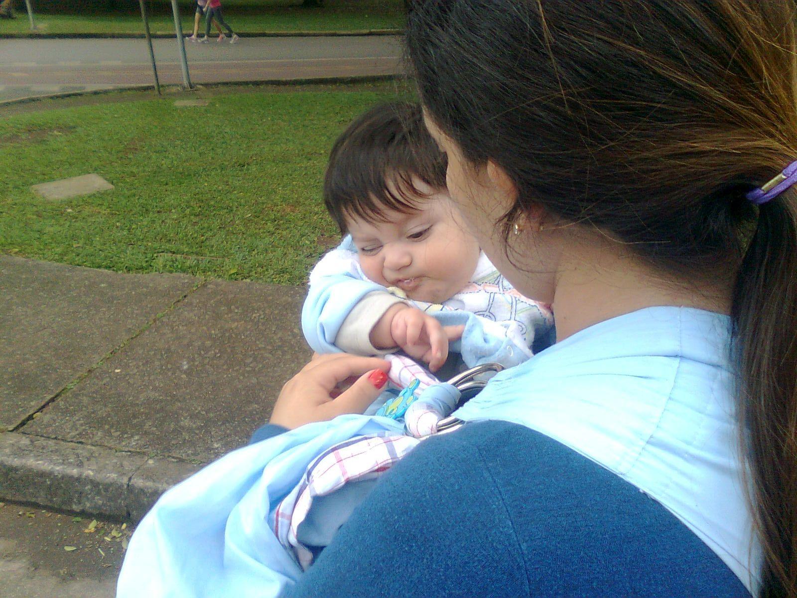 Primeiro dia no Parque Ibirapuera...