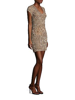 Parker Black Serena Shimmering Dress