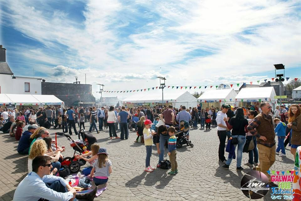 Another beautiful day at the Galway Food Festival. Photo by John Walsh