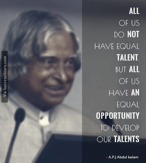 16 Most Popular Inspirational Quotes From A.P.J Abdul