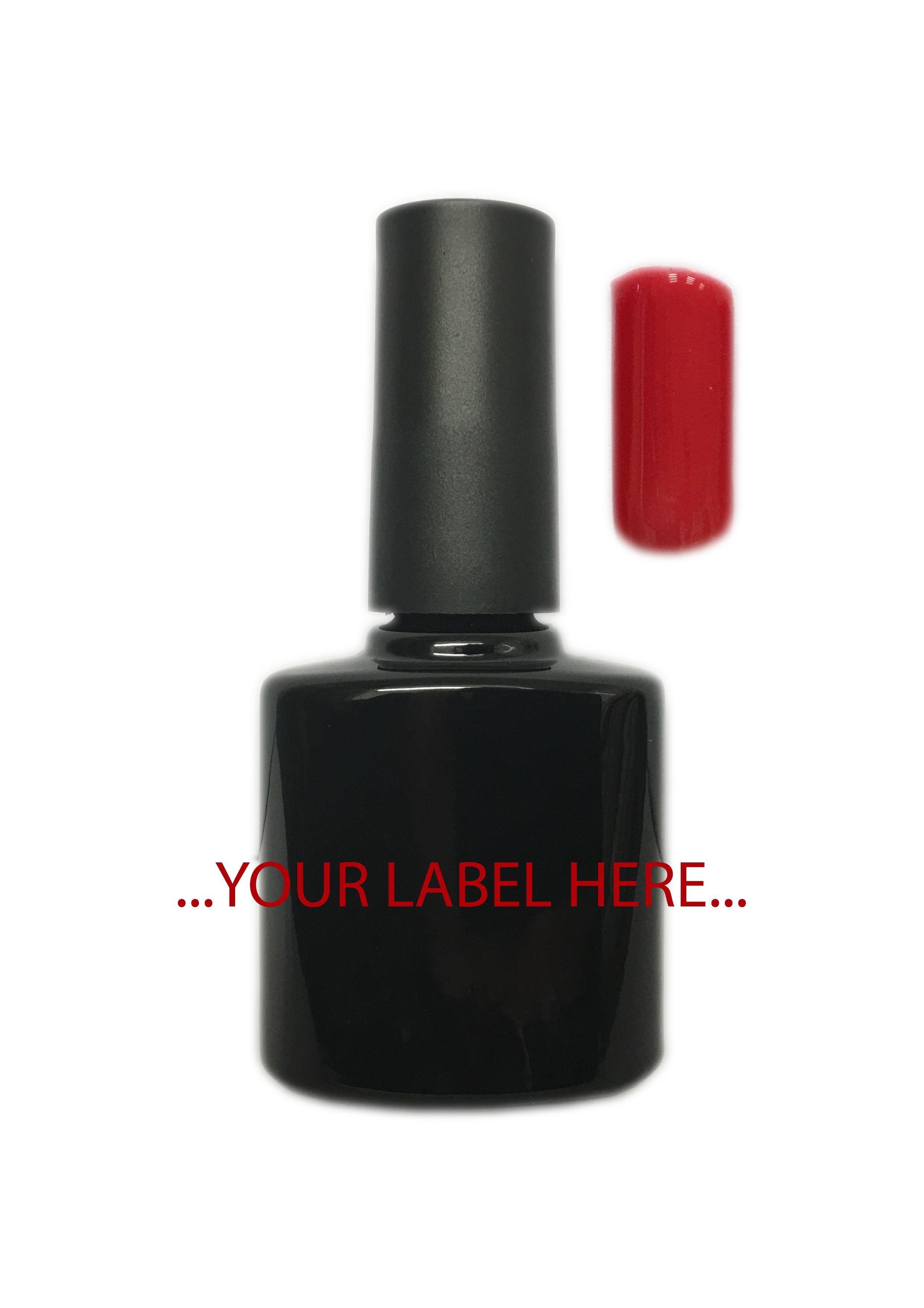 Porsche Red UV Gel. UV, Gel, Nails, Nail, UV Lamp, CosmetUK,  Matte Top Coat, Peelable Base Coat, No Wipe Top Coat, Hand, Hands, Fingers, Finger. www.cosmetuk.com