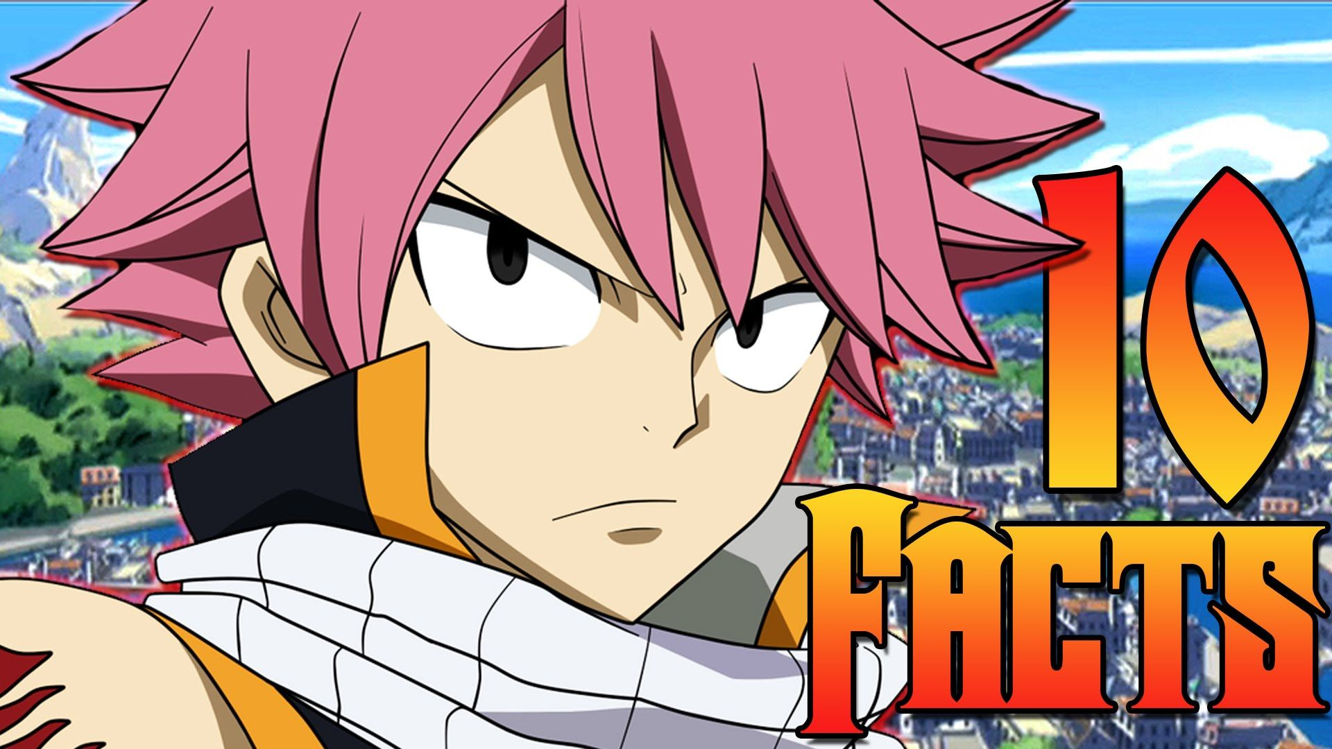 10 Facts About Natsu Dragneel Fairy Tail The Week Of 10 S 2 Fairy Tail Fairy Natsu Dragneel