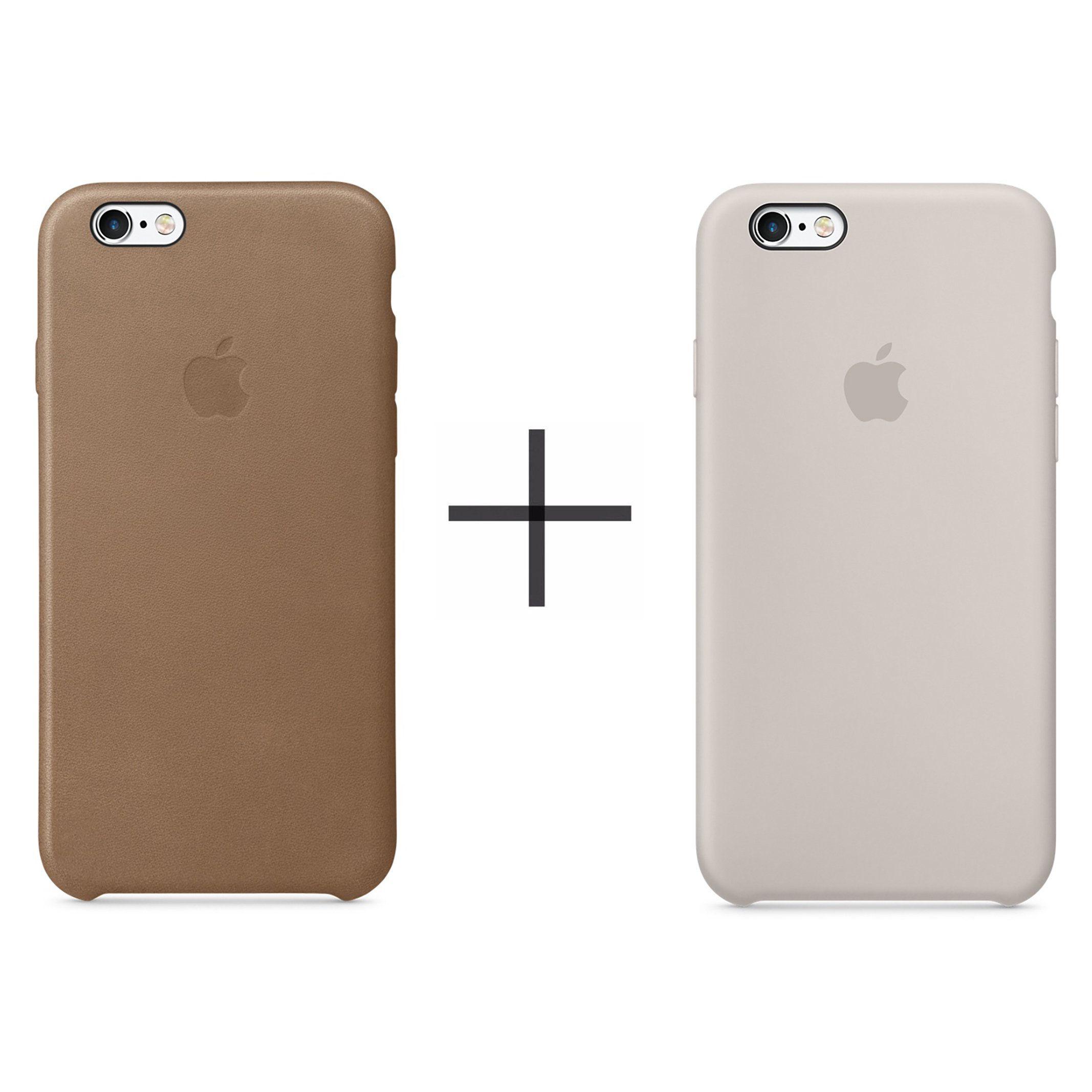 Apple Iphone 6 Plus 6s Plus Leather Case Brown Apple Iphone 6