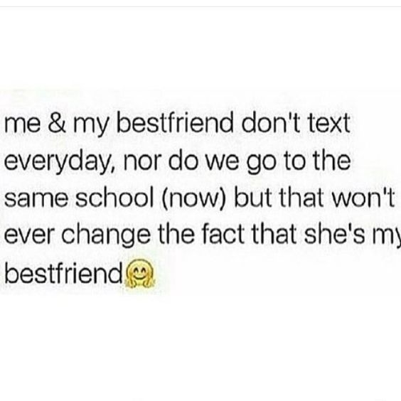 Nothing will change the fact that she's my best friend  Share with your friends! 🔻BFFTRUTH COM🔻 ——————————————————————— best ad lifestyle pinter is part of Best friend quotes -