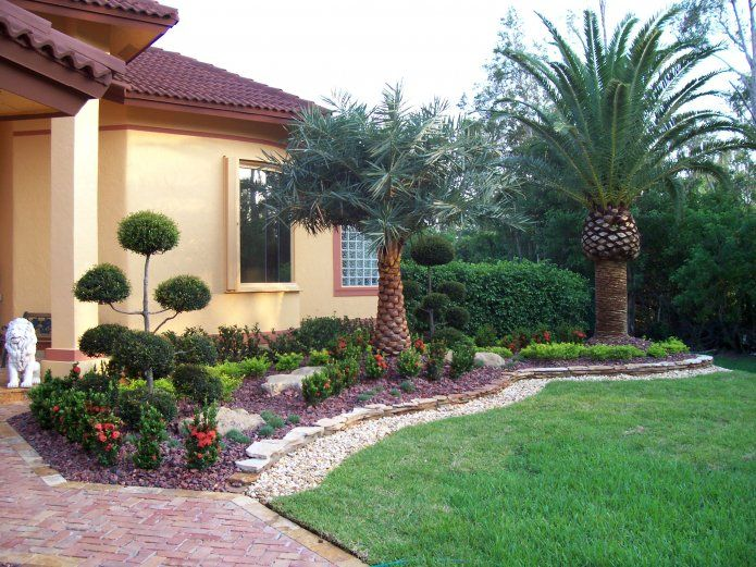 Broward residential landscaping1 31 landscape ideas for Burowand design