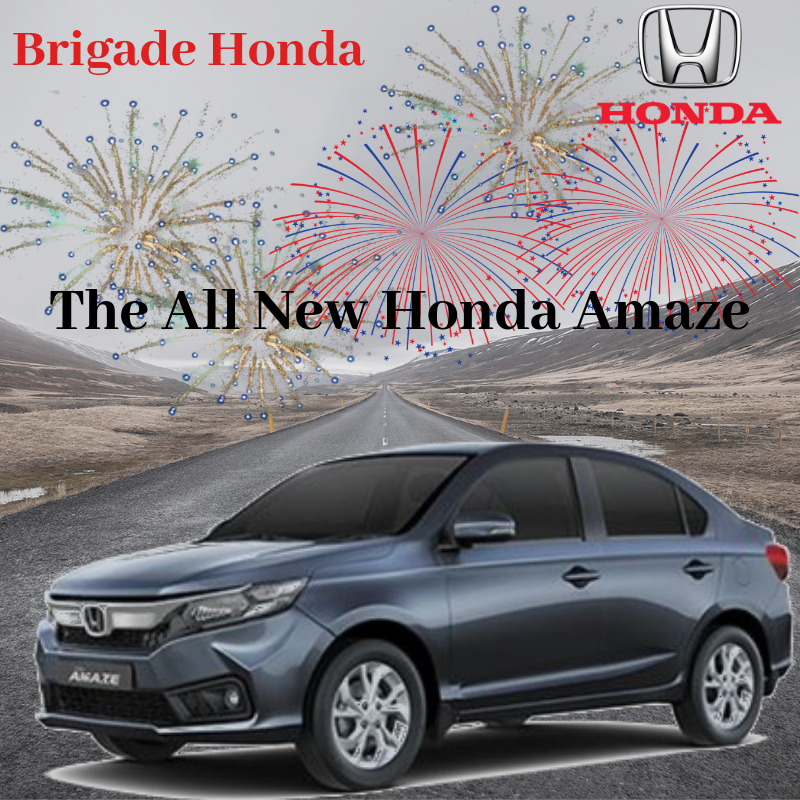 "All New AMAZE Brigade Honda ""Honda Cars India's latest"