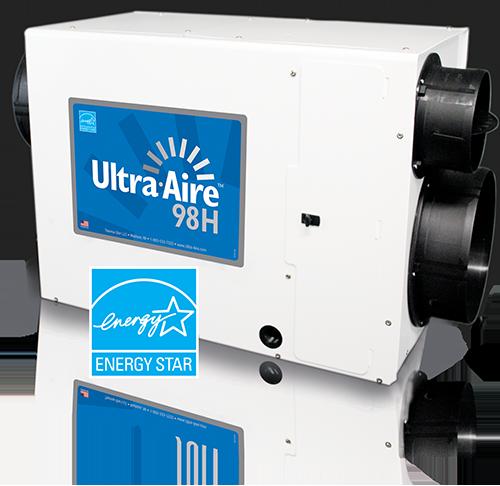 UltraAire Whole House Dehumidifiers UltraAire 98H