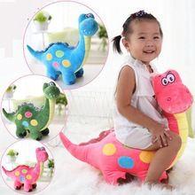 Big Size 50 cm Dinossauro Dos Desenhos Animados 3 Cor Dragão De Pelúcia Boneca Macia animais de Brinquedo de Pelúcia Para O Bebê Crianças Crianças Melhor Presente de Boa Qualidade(China (Mainland))