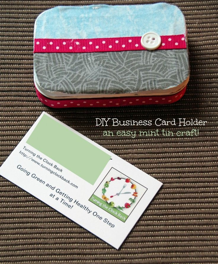 DIY Business Card Holder and Real Agent Guard are Must Haves For ...