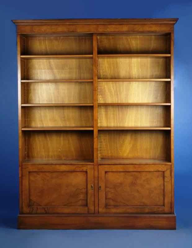 Sy Walnut Bookcase