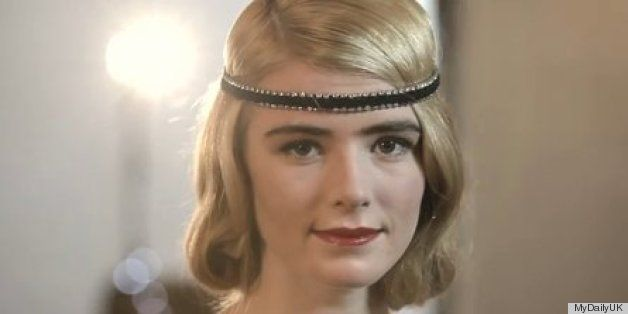 1920s Glam Roaring Twenties Great Gatsby Curls Hairstyle